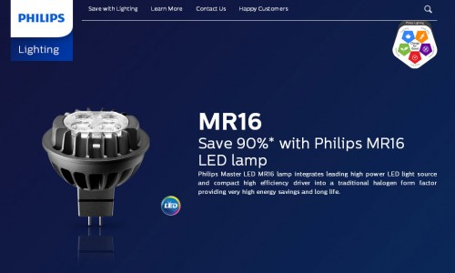 Bóng đèn Master Led Philips 7W MR16 2700K
