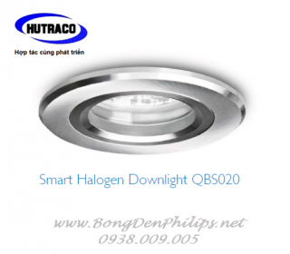Chóa đèn led Downlight âm trần Philips - Smart Halogen Downlight QBS020