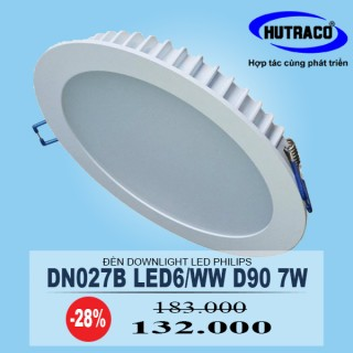 Đèn Downlight âm trần LED Philips DN027B LED6/WW D90 7W