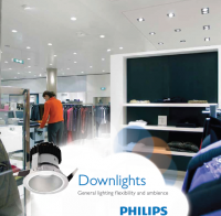 Đèn downlight Led âm trần Philips